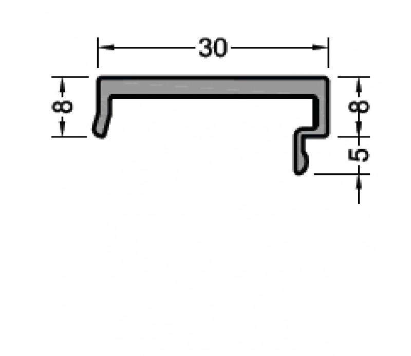 Krycí profil D8