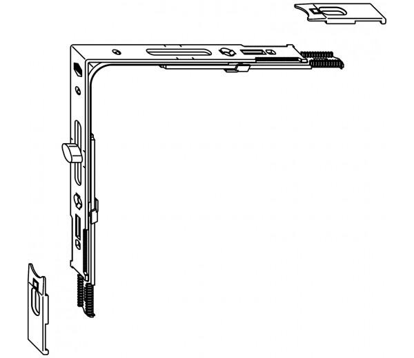 MACO rohový prevod A  370-2350 mm 1VZ MULTI-TREND