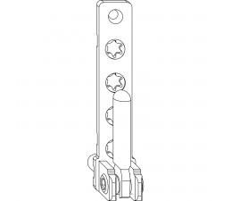 MACO rámové ložisko pre PVC okná