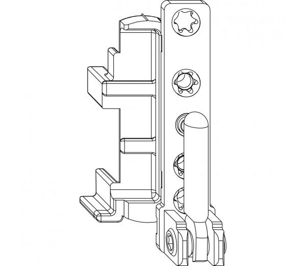 MACO rámové ložisko pre drevené okná 12/18 zavŕtacie