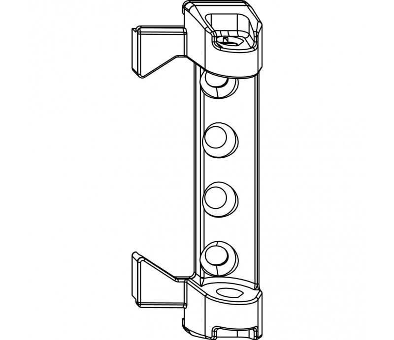 MACO ložisko nožníc AS šrubovacie pre falc 12/18 mm
