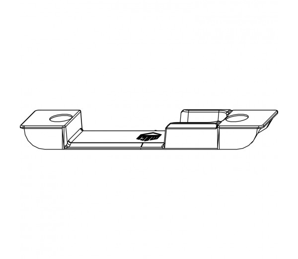 MACO rámový uzáver zadlabací  pre 4 mm