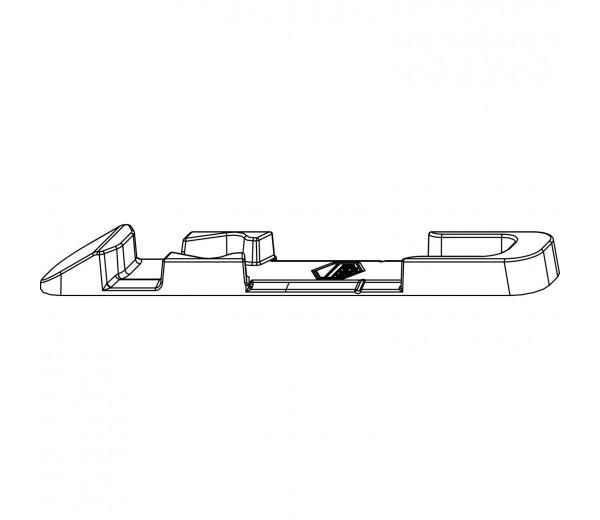 MACO otváravo-sklopný uzáver  pre hladký falc 18mm MULTI-TREND a MACO MULTI-MATIC