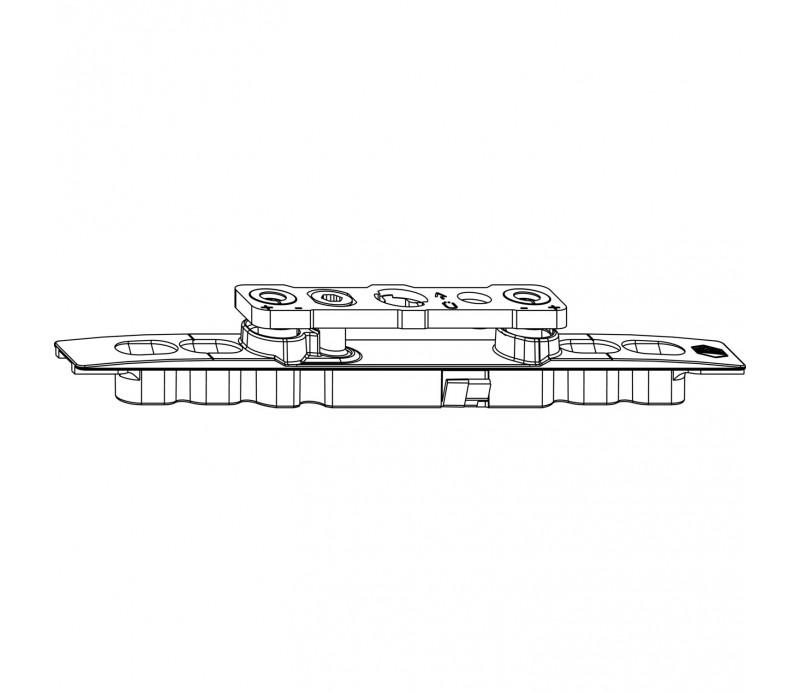 MACO sklopný a otváravý záves pre oblúky pre drevo do drážky