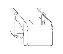 MACO krytka rámového ložiska krátka