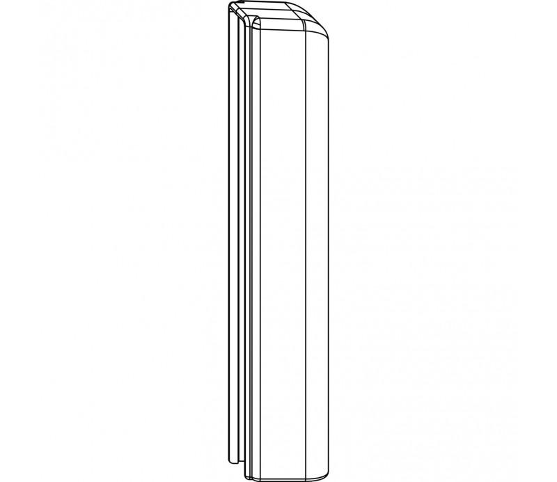 MACO krytka spodného ložiska krátka