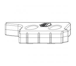 MACO protikus polohovej poistky a balkónovej záklapky 20 mm MULTI-MATIC