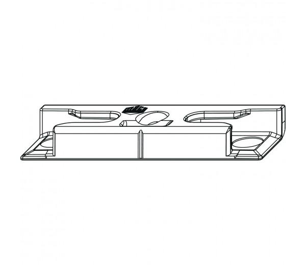 MACO bezpečnostný rámový protikus pre hladký falc 20 mm
