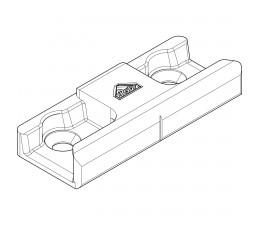 ROTO rámový uzáver nenastaviteťný drevo 18mm