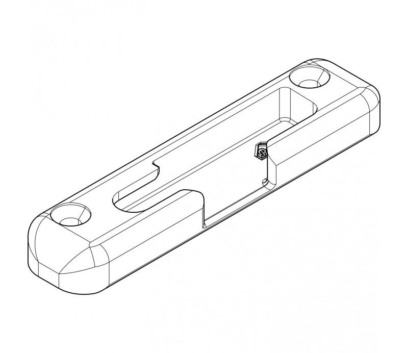 ROTO otváravo-sklopný rámový uzáver pre drevo 18mm