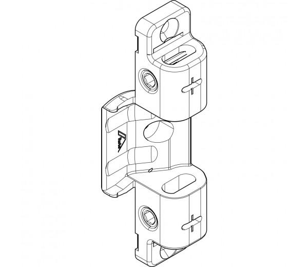 ROTO NT držiak nožníc a závesu pre drevo nastaviteľný N390A03106