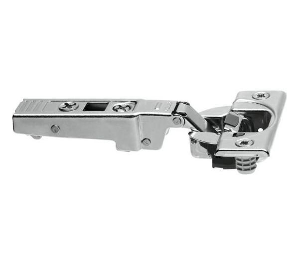 BLUM CLIP top záves na profil. dvere 95°, rovný s pružinou, nalisovanie