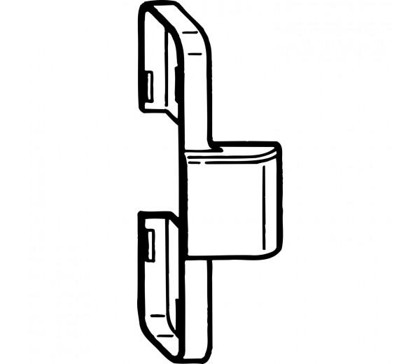 ROTO NT krytka prítlačného závesu krídlová časť biela
