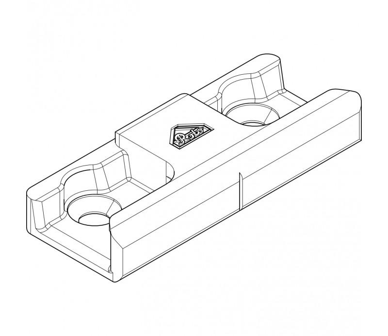ROTO rámový uzáver nenastaviteťný drevo 20mm