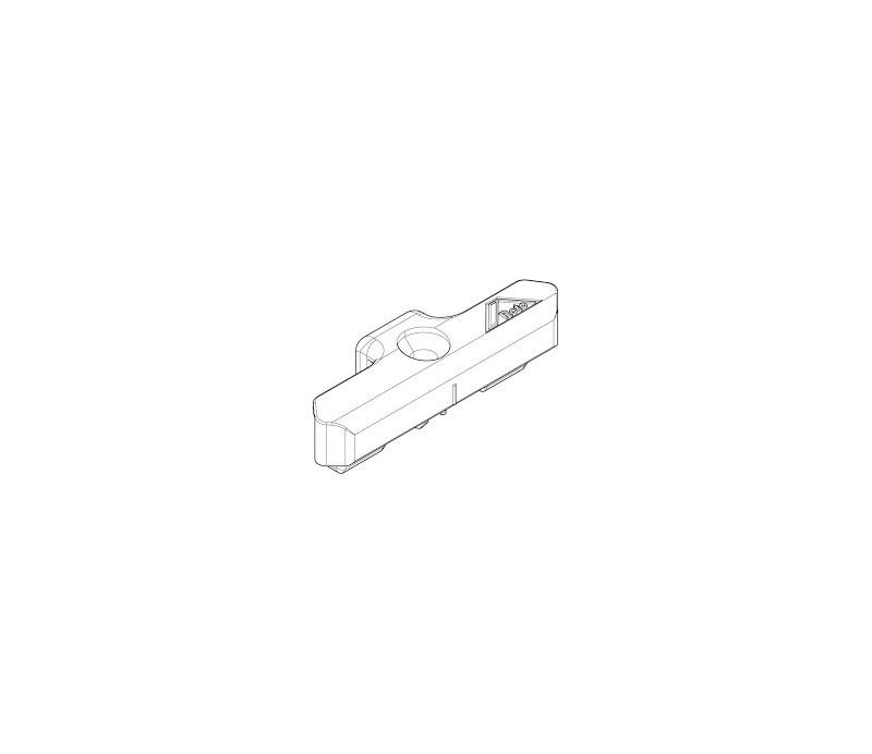 ROTO rámový uzáver pre plast NT os 13mm N701A21106