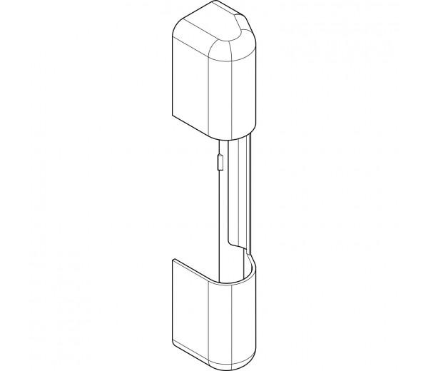 ROTO NT krytka držiaka nožníc a  závesu pre plast
