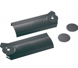 BLUM AVENTOS HF súprava krytiek, tmavosivý plast