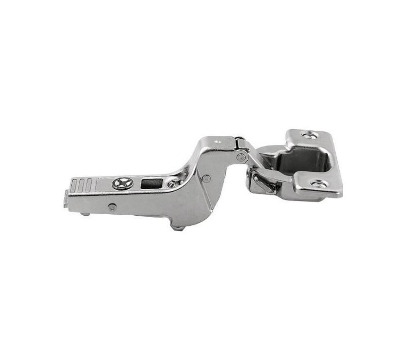 BLUM CLIP top záves na profil. dvere 95°, zalomený 18 mm bez pruž., skrutky