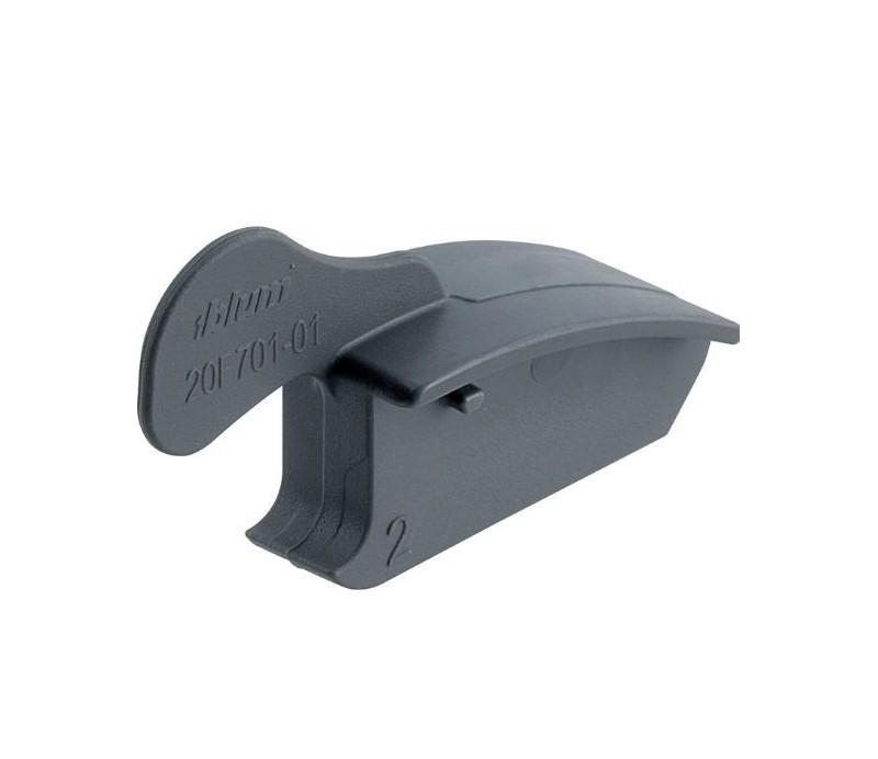 BLUM AVENTOS obmedzovač uhla otvorenia, uhol otvorenia 83°, sivý plast, 20F7011