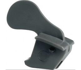 BLUM AVENTOS obmedzovač uhla otvorenia, uhol otvorenia 104°, sivý plast