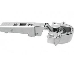 BLUM CLIP top BLUMOTION záves na hliníkový rám 95°, priamy, s pružinou, skrutky