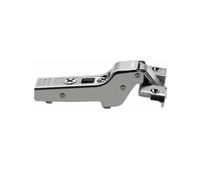 BLUM CLIP top záves na hliníkový rám 95°, zalomený 9,5mm s pružinou, skrutky