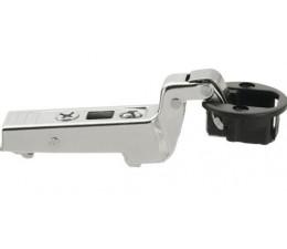 BLUM CLIP top záves na sklenené dvierka 94°, 18mm zalomený s pružinou, skrutky