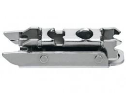 BLUM CLIP priama montážna podložka s excentrom, oceľ, Spax-skrutky, odst.3mm