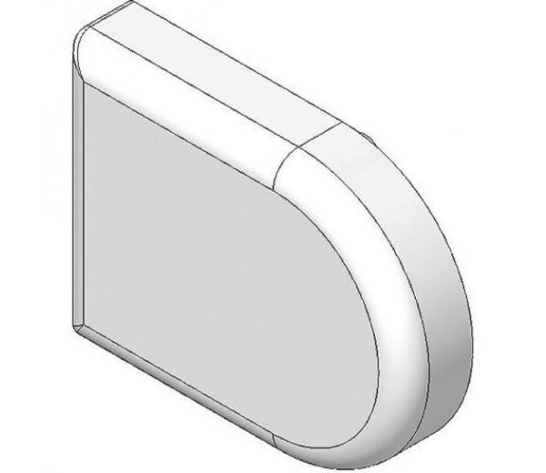 BLUM CLIP top krytka misky závesu na sklenené dvierka, tvar-D, zlatá
