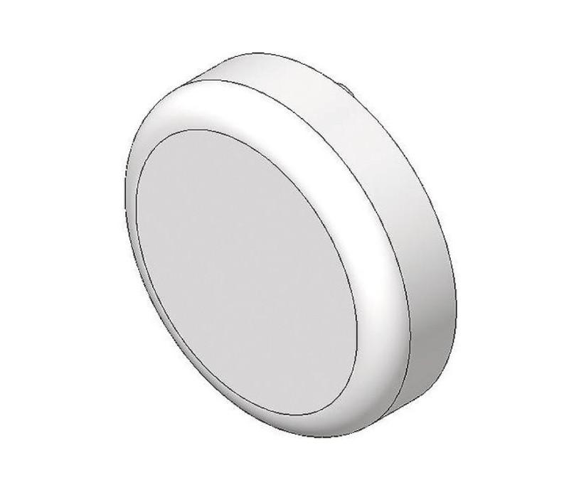 BLUM CLIP top krytka misky závesu na sklenené dvierka, okrúhla, pozlátený plast