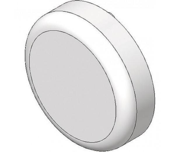 BLUM CLIP top krytka misky závesu na sklenené dvierka, okrúhla, čierny plast