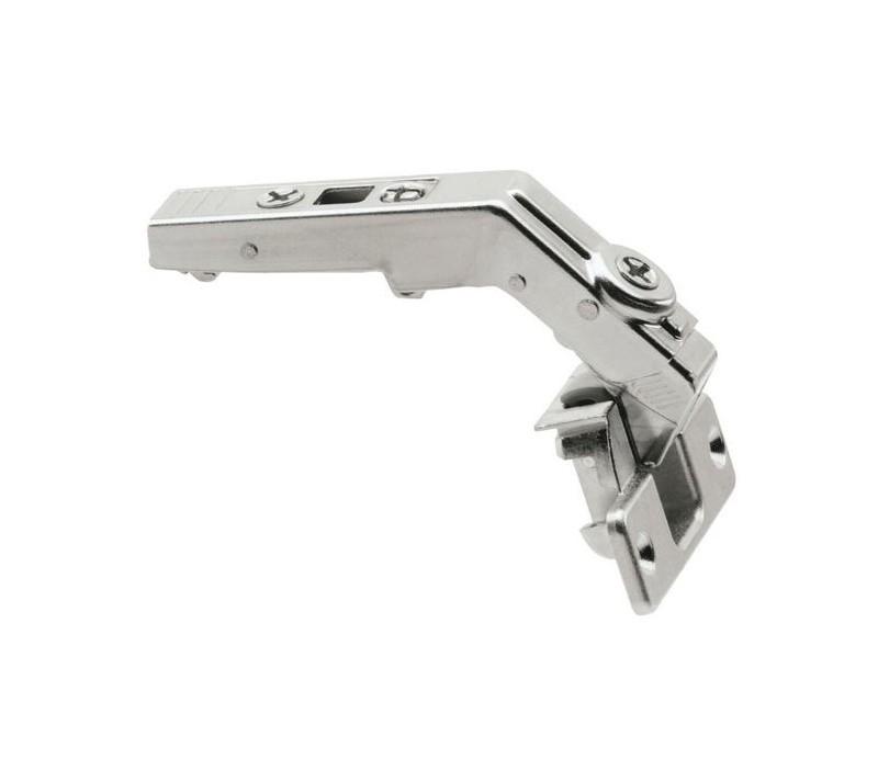 BLUM CLIP top záves na skladacie dvere 60°, s pružinou, skrutky