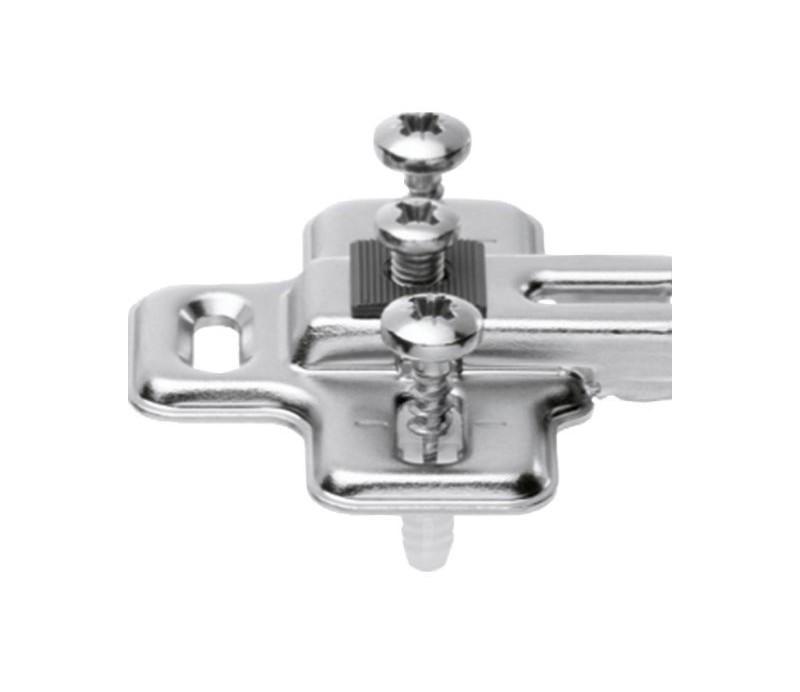 BLUM MODUL krížová mont. podložka pre chladničkový záves, oceľ, odstup 0 mm