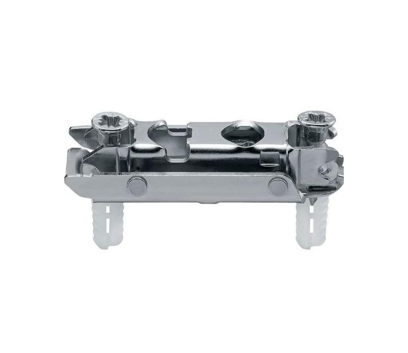 BLUM CLIP priama montážna podložka s excentrom, oceľ, EXPANDO, odst. 0mm