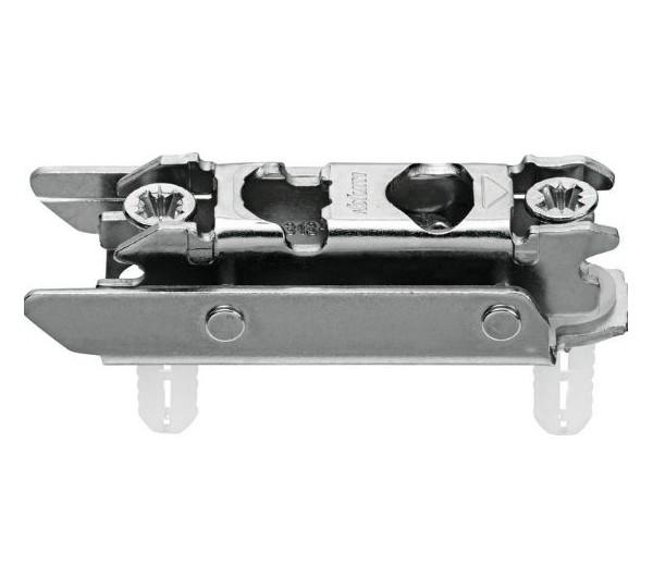 BLUM CLIP priama montážna podložka s excentrom, oceľ, EXPANDO, odst.3mm