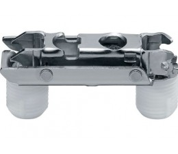 BLUM CLIP priama montážna podložka s excentrom, oceľ,montáž zarazením,odst. 0 mm