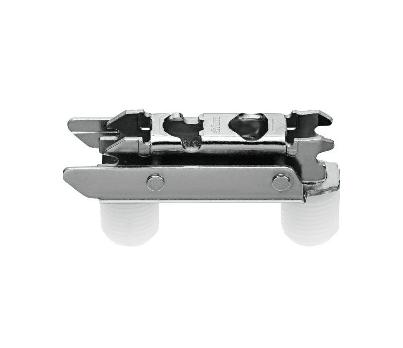 BLUM CLIP priama montážna podložka s excentrom, oceľ,montáž zarazením,odst.3mm