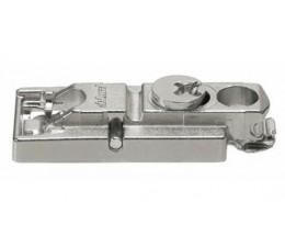 BLUM CLIP priama montážna podložka s excentrom, skrutky Spax, odst. 0mm