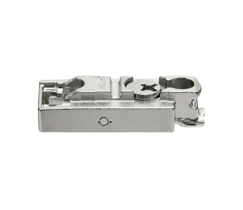 BLUM CLIP priama montážna podložka s excentrom, skrutky Spax, odst. 3mm