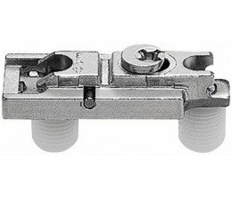 BLUM CLIP priama montážna podložka s excentrom, mont.zarazením, odst.0mm