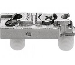 BLUM CLIP priama montážna podložka s excentrom, mont.zarazením,odst.3mm