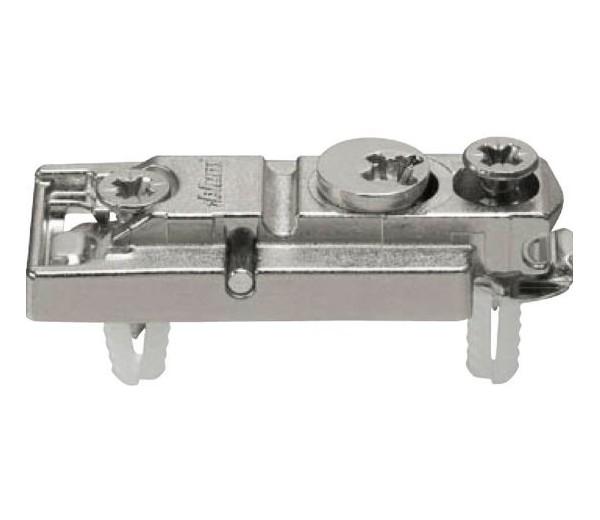 BLUM CLIP priama mont.podložka s excentrom,mont.s rozperkami EXPANDO, odst. 0 mm