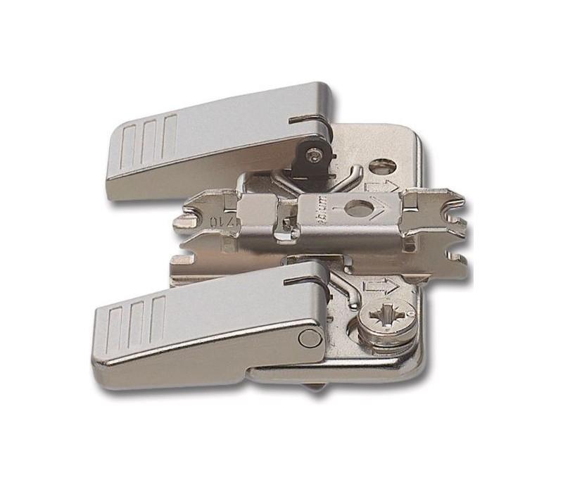 BLUM CLIP krížová montážna podložka s excentrom,oceľ, INSERTA,odst. 0mm