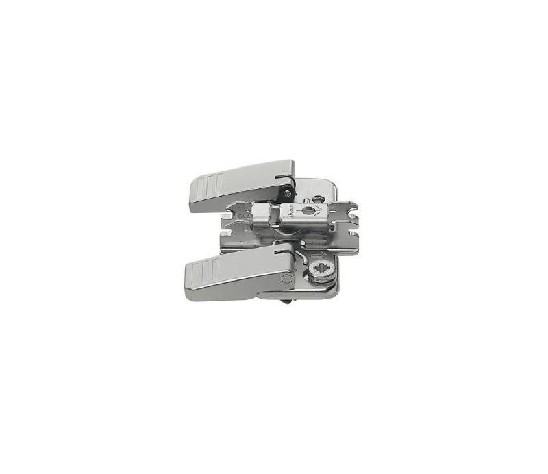 BLUM CLIP krížová montážna podložka s excentrom,oceľ, INSERTA,odst. 3mm