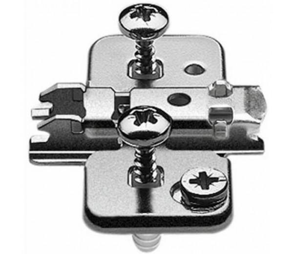 BLUM CLIP krížová montážna podložka s excentrom, EXPANDO, odst. 0mm