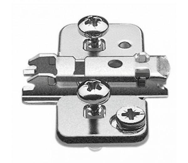 BLUM CLIP krížová mont.podložka s excentrom, EXPANDO, mont.proti sebe, odst.0mm