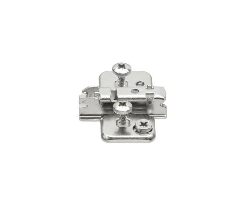 BLUM CLIP krížová mont.podložka s excentrom, EXPANDO, mont.proti sebe, odst.3mm