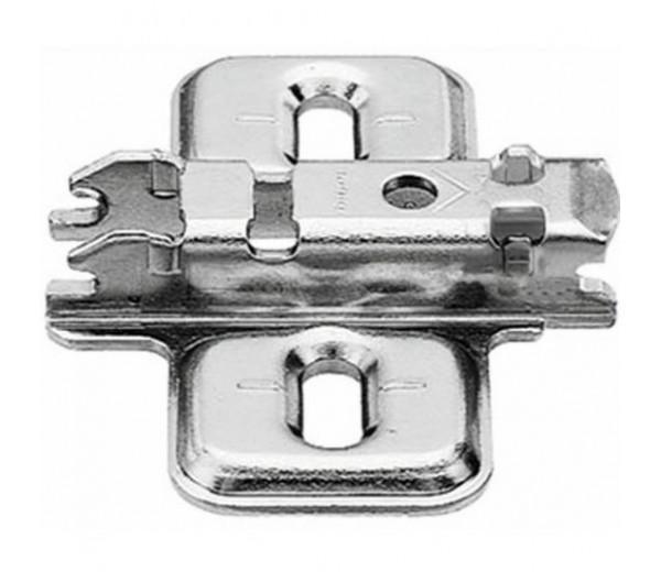 BLUM CLIP krížová montážna podložka, skrutky Spax, VN:pozdl.otvor,odst.0mm
