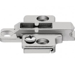 BLUM CLIP krížová montážna podložka, skrutky Spax, VN:2-dielna,odst.0mm