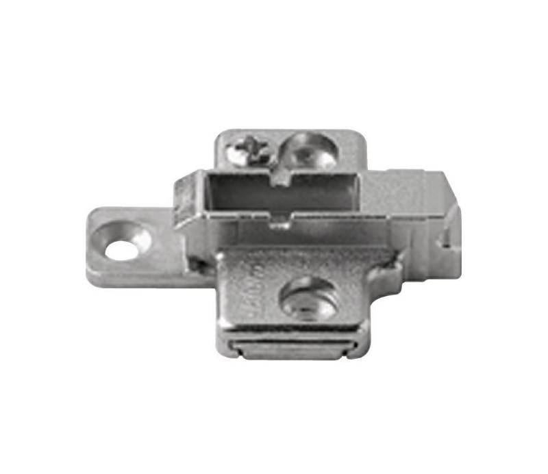 BLUM CLIP krížová montážna podložka, skrutky Spax, VN:2-dielna,odst.3mm